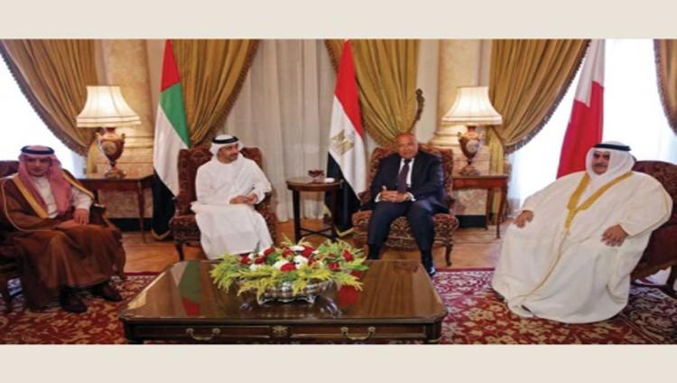 الدول الأربع: الخيار العسكري مع قطر لم ولن يطرح
