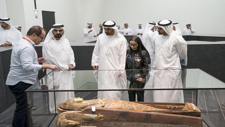 محمد بن راشد ومحمد بن زايد: المتحف مفخرة إماراتية ونافذة ثقافية
