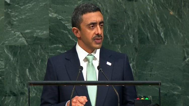 عبدالله بن زايد: اتخذت الدول الأربعة تدابير لوقف دعم قطر للإرهاب