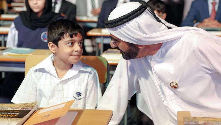 محمـد بن راشــد: واقــع التعلــــــيـم في العالم العربي لا يُرضي أحداً