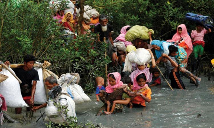 ربع «الروهينجا» إلى بنجلاديش.. ومئات الجرحى من الأطفال