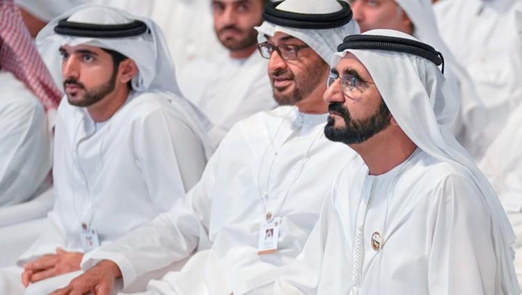 محمد بن راشد ومحمد بن زايد يطلقان مسيرة تحقيق «مئوية الإمارات 2071»
