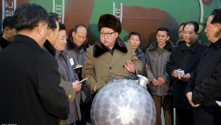 كوريا الشمالية تلعب بالنار بهزة أرضية نووية اليوم