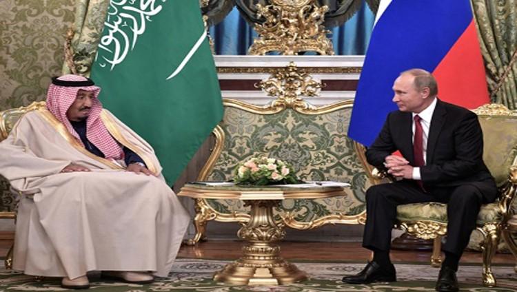 قمة الملك سلمان وبوتين.. توافق على تسوية أزمات المنطقة