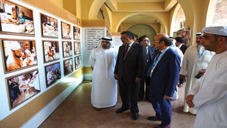 افتتاح معرض صور لمبادرة محمد بن زايد لاستئصال شلل الأطفال بباكستان