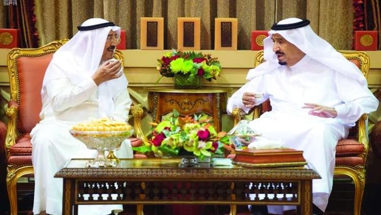 قمة سعودية كويتية تبحث قضايا المنطقة
