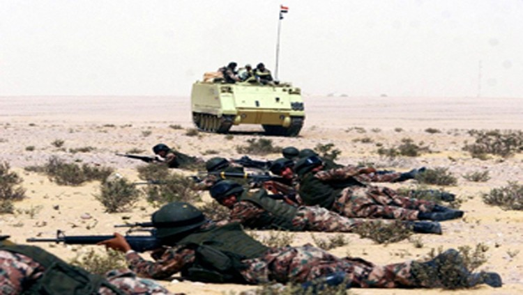 القوات المصرية تقتل 12 إرهابياً باشتباكات في الصحراء