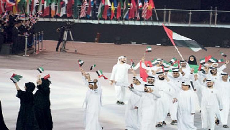 الإمارات تبهر العالم بافتتاح غير مسبوق لمسابقة المهارات العالمية «أبوظبي 2017»