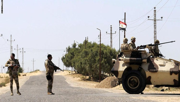 مصر: مقتل 24 إرهابياً في سيناء