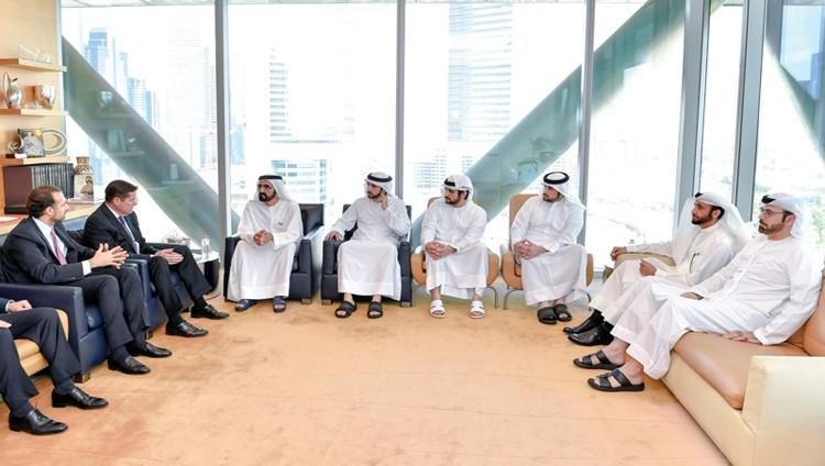 محمد بن راشد: الإمارات تفتح أسواقها للشركات العالمية لمزاولة أنشطتها بحرية تامة