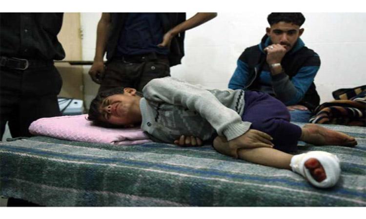 أيام دامية في الغوطة والنظام متهم بـ«الغاز السام»