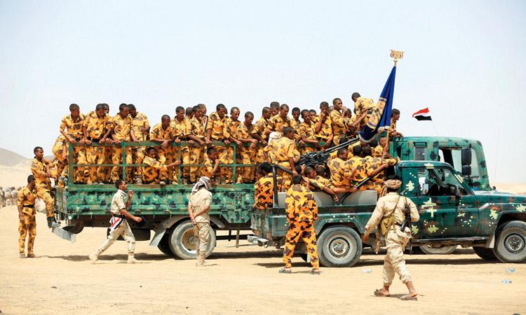 الجيش اليمني يحرر 3 مواقع استراتيجية في مديريـــــة نهم