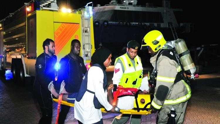 شرطة دبي.. تدخُّل سريع لتخليص ضحايا الانحشار