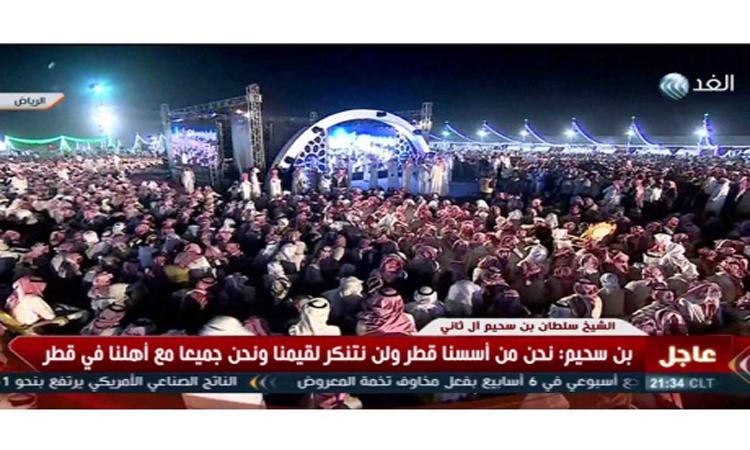 الآلاف من قبائل قحطان تتضامن مع شيخ «شمل الهواجر»