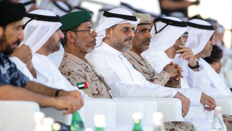ولي عهد الشارقة: قواتنا المسلحة درع واقٍ وحصن حصين