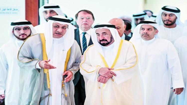 سلطان يفتتح المؤتمر الإماراتي الألماني الخامس في الطب