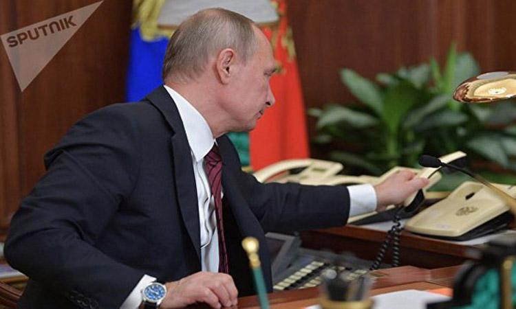 موسكو: اتصالات مجهولة تهدد باستهداف بوتين