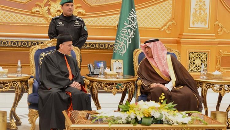 البطريرك الماروني يبدأ زيارة تاريخية إلى السعودية