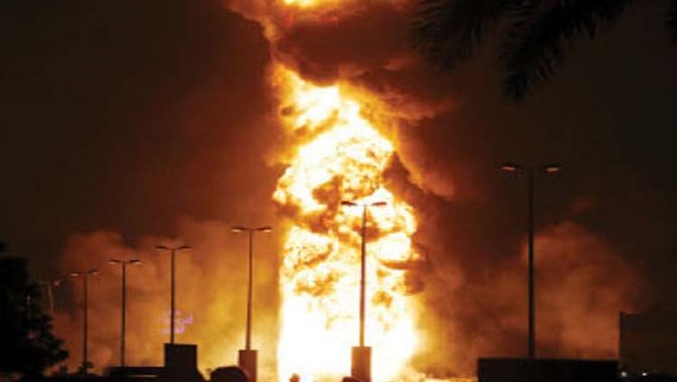 الإمارات تدين العمل الإرهابي الجبان ضد البحرين