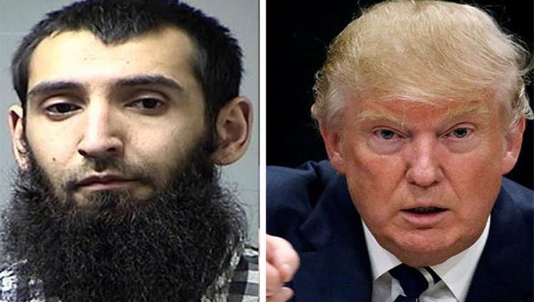 """ترامب: يجب إعدام """"سيف الله"""""""