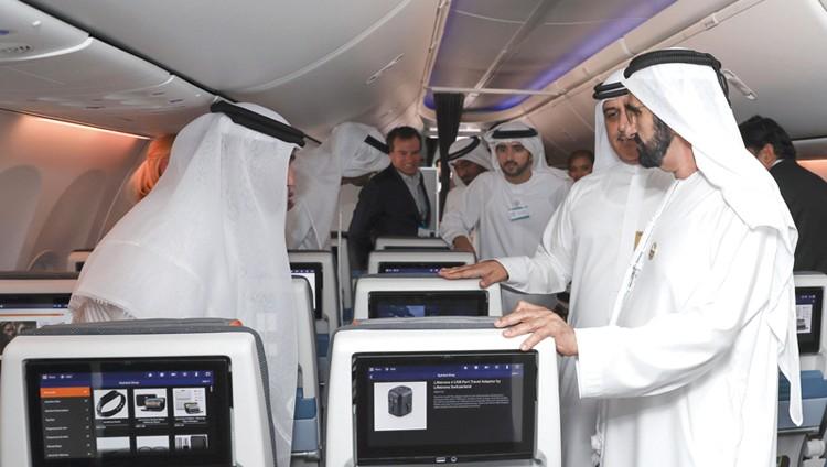 محمد بن راشد: نشجع «فلاي دبي» لتكون في مقدمة شركات النقل الاقتصادي