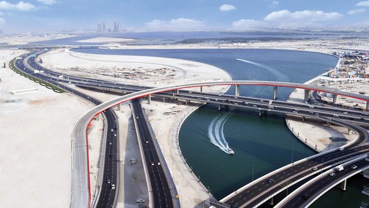 «طرق دبي» تفتتح الجسر المؤدي من «الخيل» إلى «المركز المالي» يناير المقبل