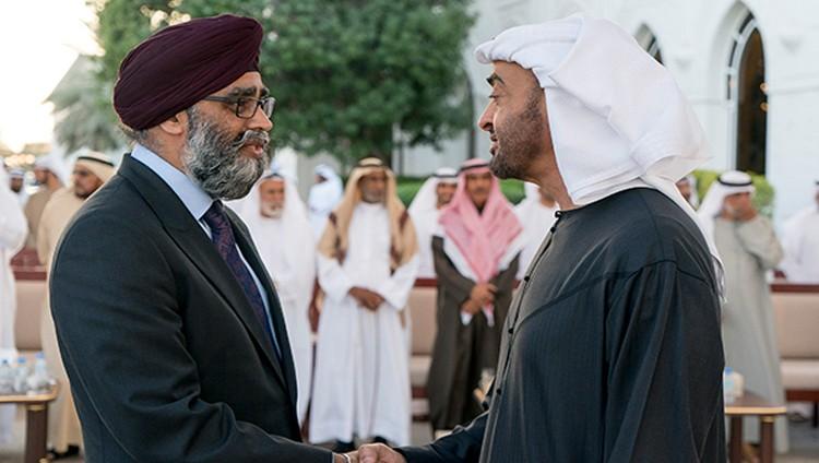 محمد بن زايد ووزير الدفاع الكندي يبحثان جهود تحقيق الاستقرار في المنطقة