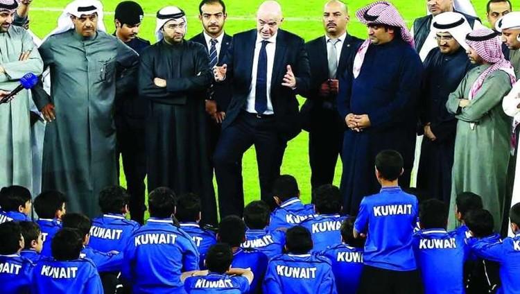 الكويت تنظم «خليجي 23» واتجاه لتأجيل الموعد