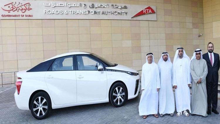 """""""طرق دبي"""" تدشن التشغيل التجريبي لأول مركبة كهربائية هيدروجينية في المنطقة"""