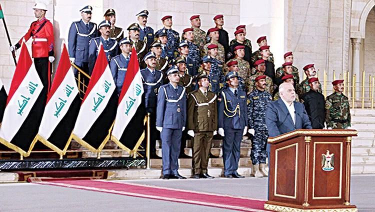 العبادي يعلن رسمياً تحرير العراق بالكامل من «داعش»