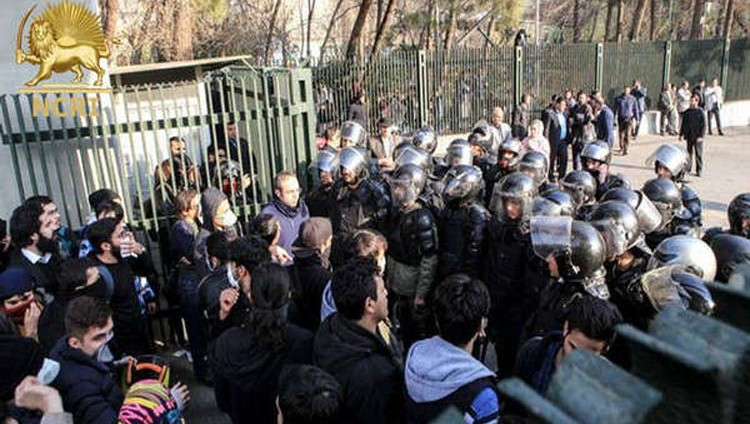 استمرار التظاهرات في إيران وسقوط 20 قتيلا