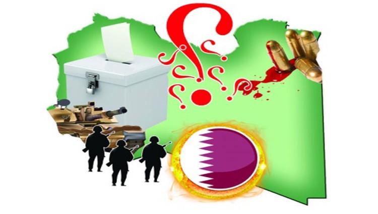 مسؤول ليبي: قطر تقود حملة منظمة ضد « حفتر والجيش»