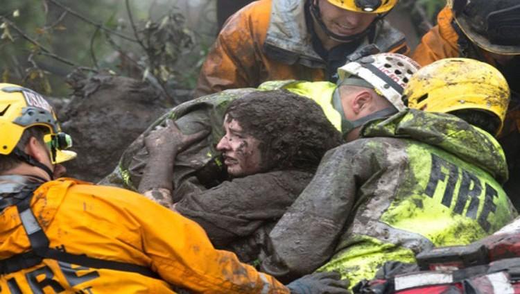 15 قتيلاً في فيضانات بكاليفورنيا وعاصفة ثلجية تضرب اليابان
