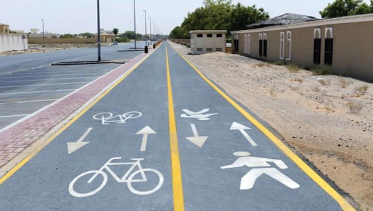 طرق دبي تفتتح مسارات للدراجات الهوائية في فبراير