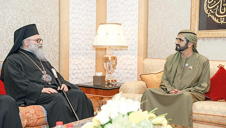 محمد بن راشد: الإمارات ترحب بالباحثين عن الأمن والاستقرار والسعادة