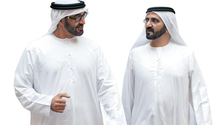 محمد بن راشد ومحمد بن زايد : شكراً لكل من أسهم بإيجابية في إسعاد الإنسان ورفعة الوطن