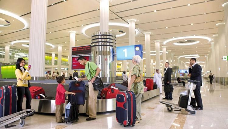 91 مليون مسافر عبر مطارات دبي دون بلاغات مجهولة