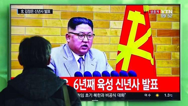 كيم جونغ أون لواشنطن: الزر النووي على مكتبي دائماً