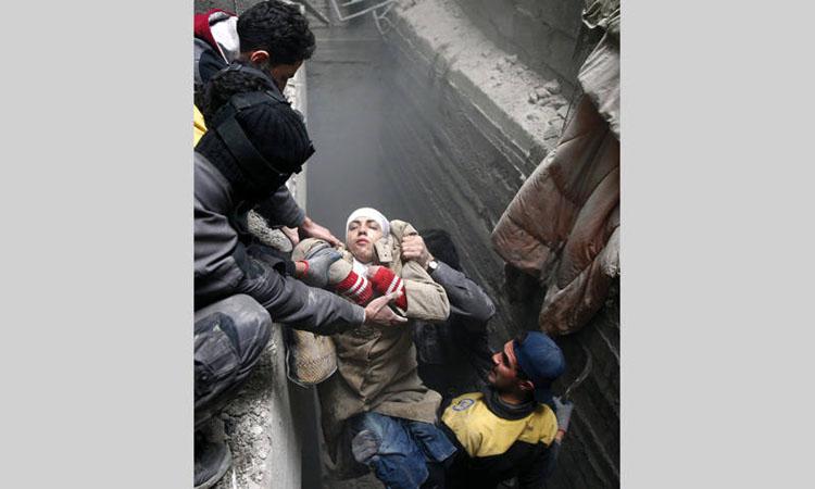 الإمارات تطالب بهدنة فورية في «الغوطة» حمايةً للمــدنيين.. وتشـدّد على الحـل السـيـاسي للأزمة