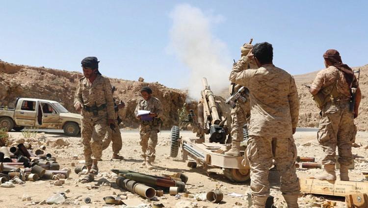 قوات الشرعية تتقدم غرب تــعز.. وتصل إلى تخوم ريف صنعاء الجنوبيــة