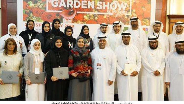 الإمارات تحصد جائزة أفضل جناح في معرض البحرين الدولي للحدائق