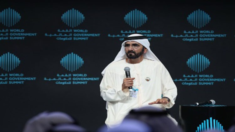 محمد بن راشد: القمة العالمية للحكومات اجتماع لخير البشرية