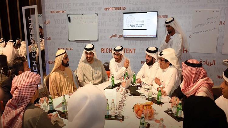 محمد بن راشد: الشفافية أساس الإعلام الناجح
