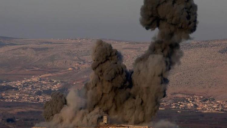 اتهامات للجيش التركي باستخدام غاز بمهاجمة قرية في سوريا