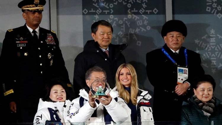 إيفانكا ترامب تغادر كوريا الجنوبية دون لقاء وفد بيونغ يانغ