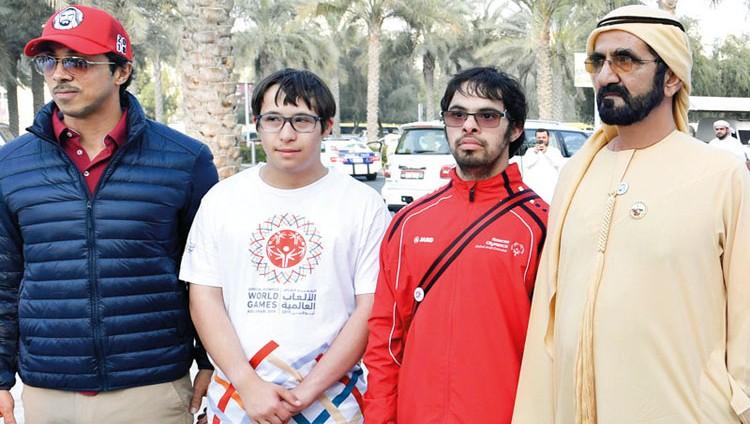 محمد بن راشد يشارك في مبادرة «نمشي معاً»