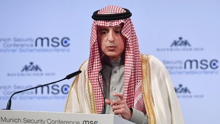 الجبير: نعمل مع شركائنا في الخليج والعالم لعزل إيران