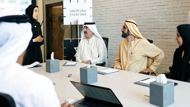 محمد بن راشد وسعود المعلا يطلقـان نموذج «حكومة المستقبل» في أم القيوين