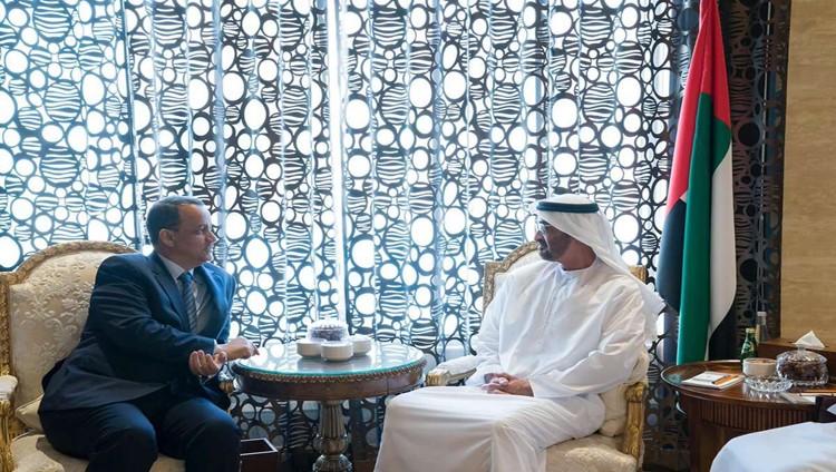 محمد بن زايد: الإمارات تدعم جهود الأمم المتحدة للتوصل إلى حل سياسي في اليمن