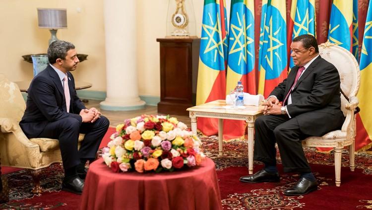 الإمارات وأثيوبيا توقعان مذكرة تفاهم للمشاورات السياسية